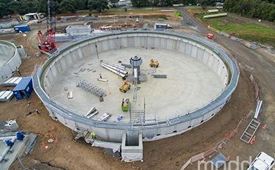 Mangere Wastewater Treatment Plant