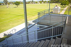 DDA access ramps and stairs