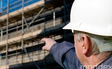 Worker Construction Sight Handrail Balustrade Moddex
