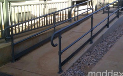 Moddex official supplier of handrails and guardrails to Port Hedland Gateway Village mining accommodation facility