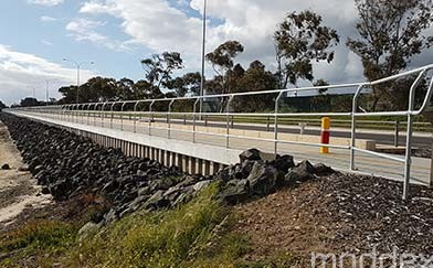Moddex selected to supply corrosion-free bikeway barriers to Sunshine Motorway Cycle Way Project