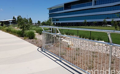 Protect your margins with modular handrails