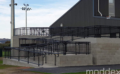 Solve Complex Problems with Crowd Barrier Systems and Guardrails at New Sports Stadium