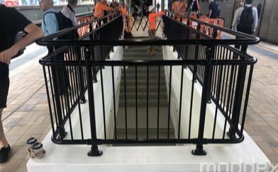 Moddex Handrails at Sydney Central Station