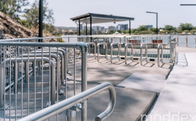 Customised handrail and balustrades for the $70m Guyatt Ferry Terminal upgrade