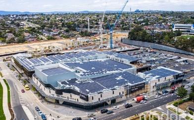 Moddex balustrade installed at Burwood Brickworks – the world's most sustainable shopping centre