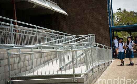 Compliant handrail and balustrades for schools across New Zealand