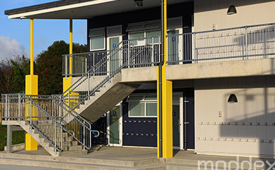 Moddex Pre-configured Handrail & Balustrade systems a perfect solution for school project