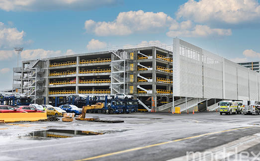 Cost-effective, functional balustrade systems at Bledisloe Wharf Carparking Facility