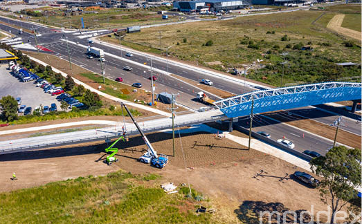 Congestion Relief and Safety for Melbourne's West with Moddex's Pre-Engineered Solutions