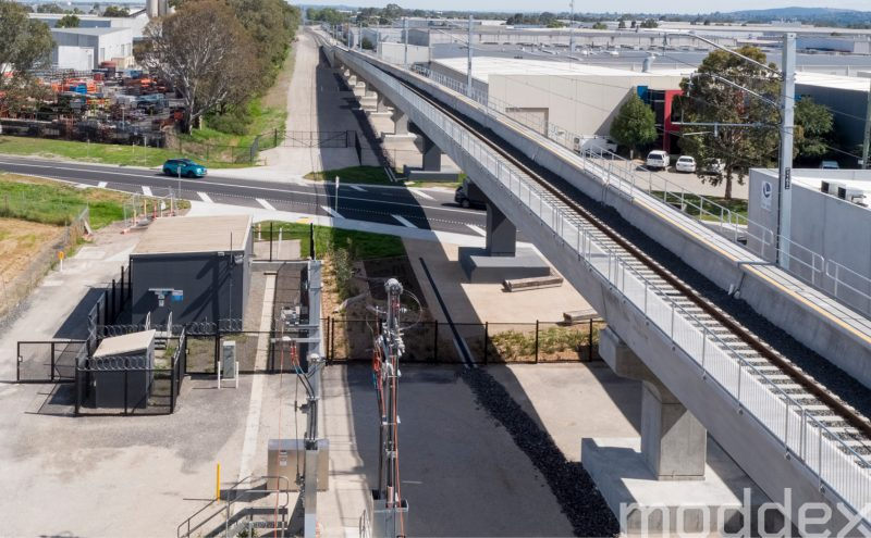 Greens Rd, Level Crossing Removal Project