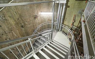 Forrestfield-Airport Link Emergency Egress Shaft Stairs
